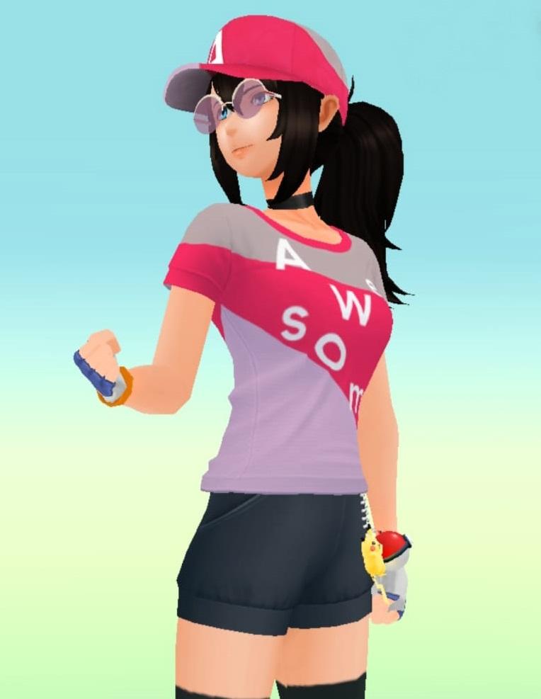 """Pokemon GO - Code für hässliche Gratisklamotten """"Galaxy A Series Special Edition Avatar"""""""