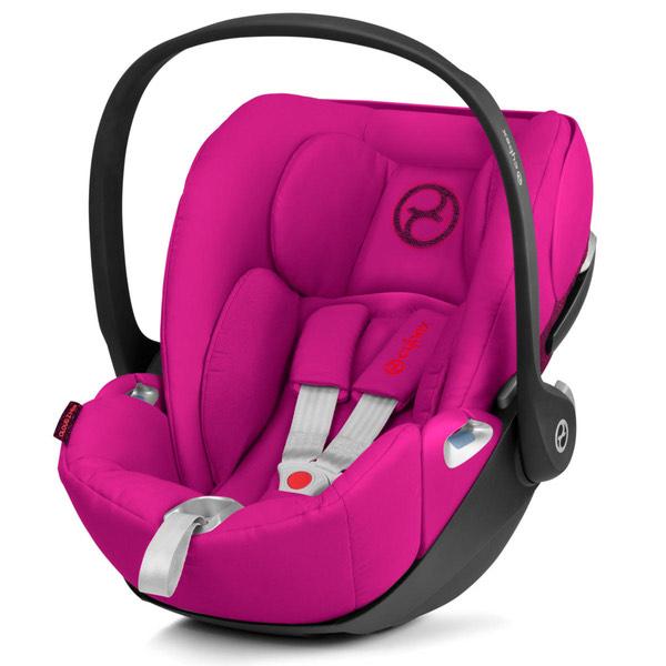 Cybex Cloud Z I-Size Kindersitz/Babyschale pink