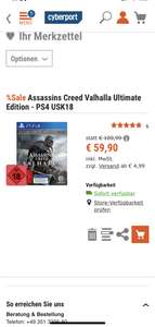 Assassins Creed Valhalla* Ultimate Edition PS4