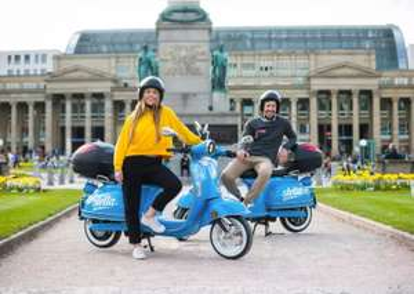 [lokal Stuttgart] stella E-Roller Sharing kostenlose Registrierung +15 min