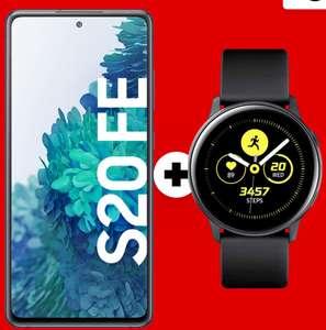 Samsung Galaxy S20 FE + Galaxy Watch Active 40mm + JBL Tune 115 TWS im m-d green LTE 5 GB Tarif für mtl. 19,99€ (PVG mtl. eff. -3,13€)
