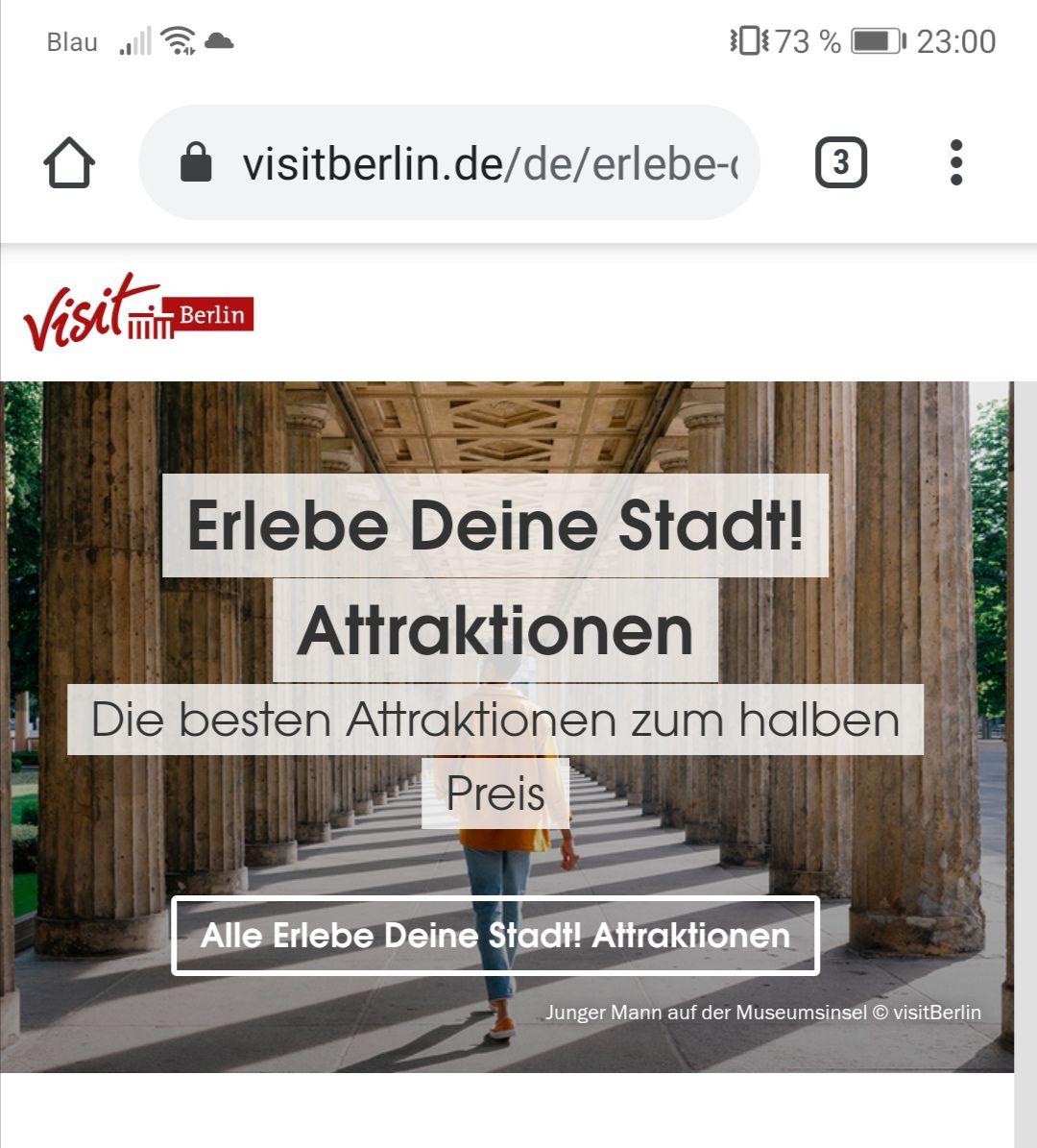 Lokal - Berlin erleben mit - 50% Rabatt