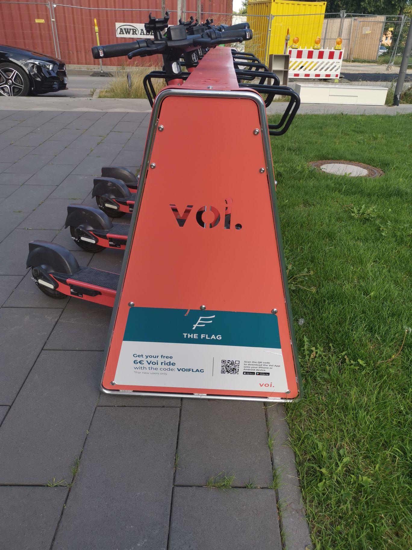 Voi E-Scooter für 6€ gratis fahren (Neukunden - lokal Frankfurt?)