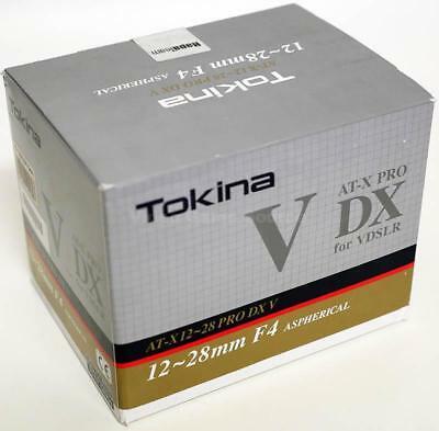 """Tokina Objektiv AT-X 12-28mm f4 Pro DX V [Canon] es ist die """"V"""" Version"""