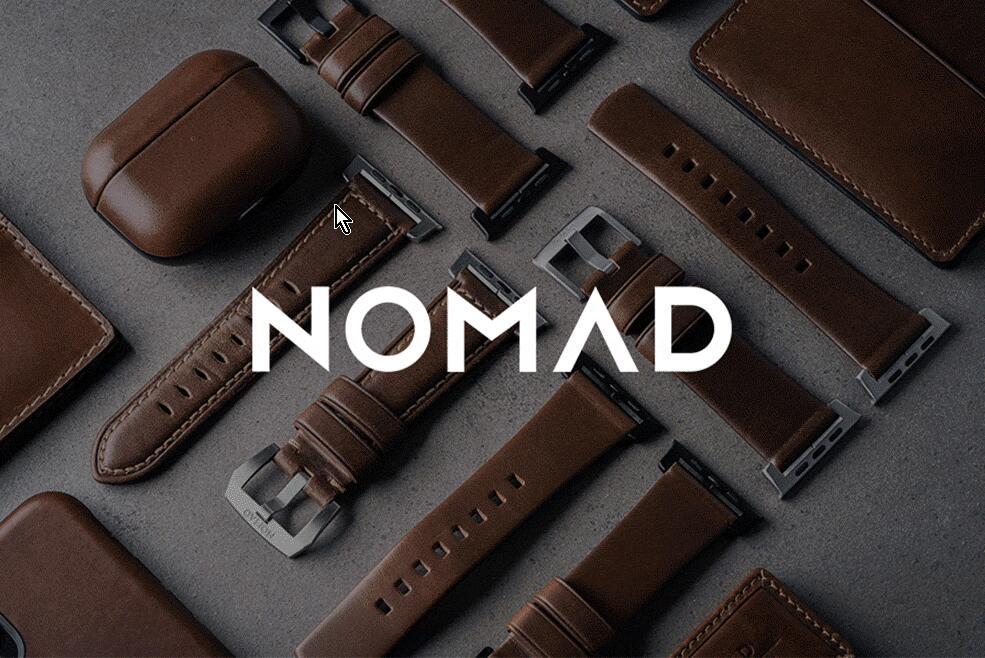 NOMAD Goods (Highend Apple Zubehör, z.B. aus Horween Leder)