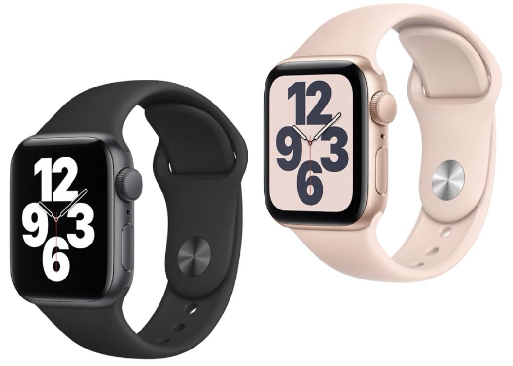 Apple Watch SE 40mm GPS spacegrau o. gold mit Sportarmband für 244€ inkl. Versandkosten mit Sovendus Gutschein