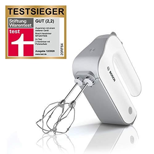 [Amazon/MediaMarkt] Bosch Handrührer MFQ4075DE mit Pürierstab & Becher, 550 W, StiWa Testsieger