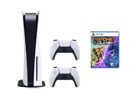 [Mediamarkt Polen] SONY PlayStation 5 mit Disc + Zusätzlicher DualSense Controller + Ratchet & Clank: Rift Apart für umgerechnet 669,77€