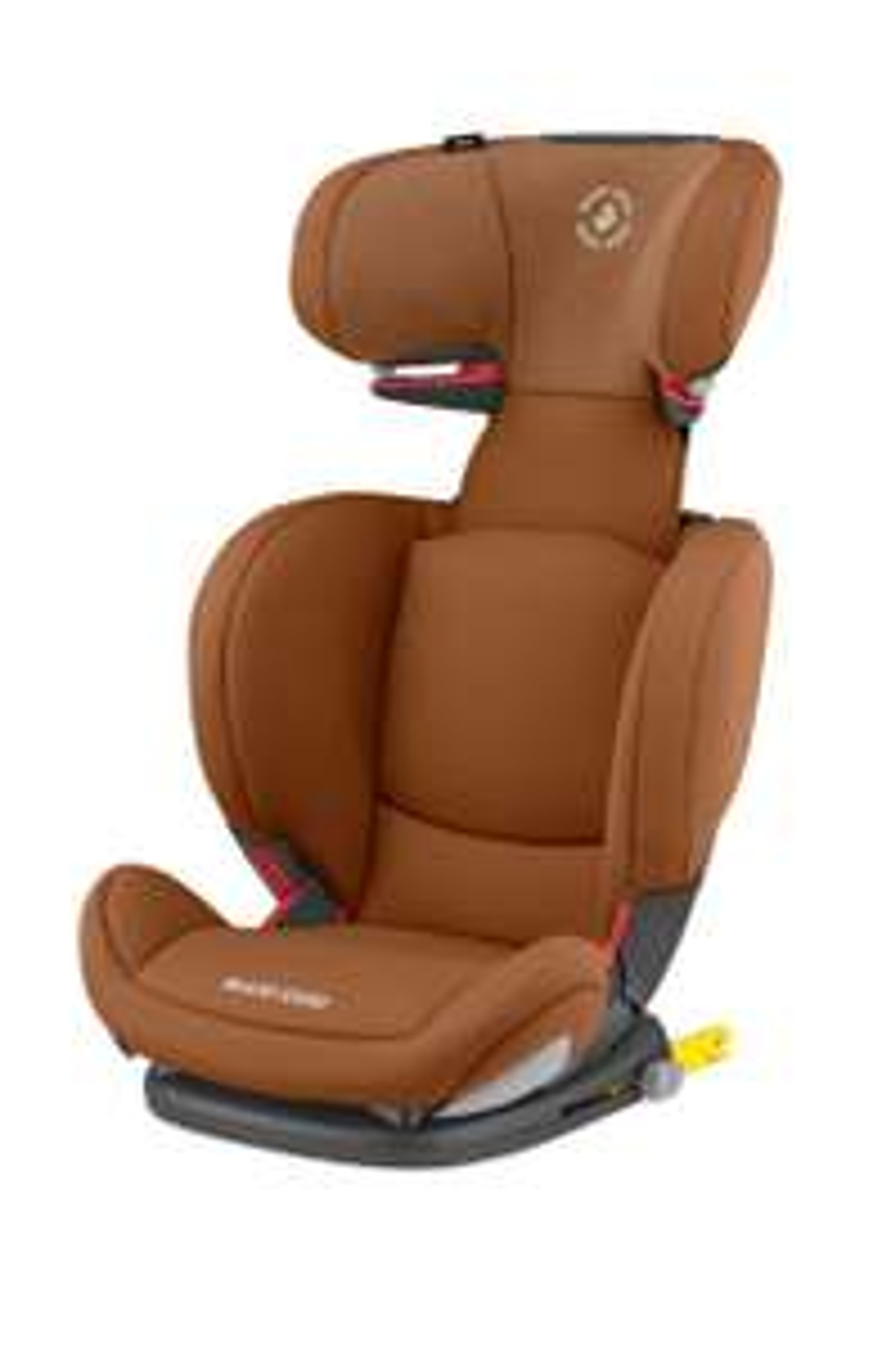 Maxi Cosi Kindersitz Rodifix AirProtect Authentic Cognac und Grey