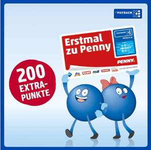 ( Penny Payback ) 200 Neukunden Punkte bei Penny über Payback Anmeldung