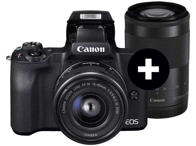 MediaMarkt Breaking Deals: z.B. Canon EOS M50 Kit 15-45mm + 55-200mm schwarz - 656€ | AEG VX82-1-2MG Staubsauger - 159€