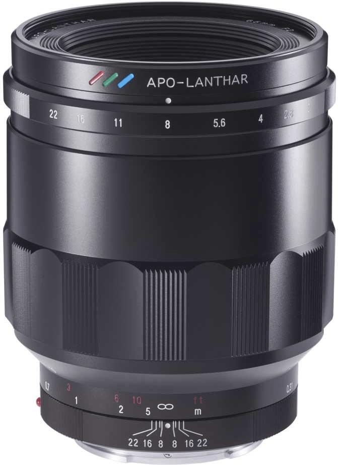 Voigtländer 65mm F2 Macro Apo-Lanthar Objektiv für Sony E-Mount