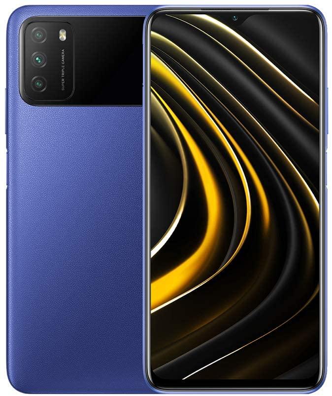 "Xiaomi Poco M3 4+64GB Smartphone, 6,53"" FHD+, 6000mAh, 48MP"