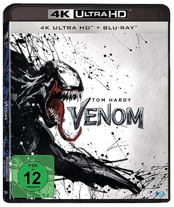 Venom (4K Blu-ray + Blu-ray) für 11,99€ (Weltbild)