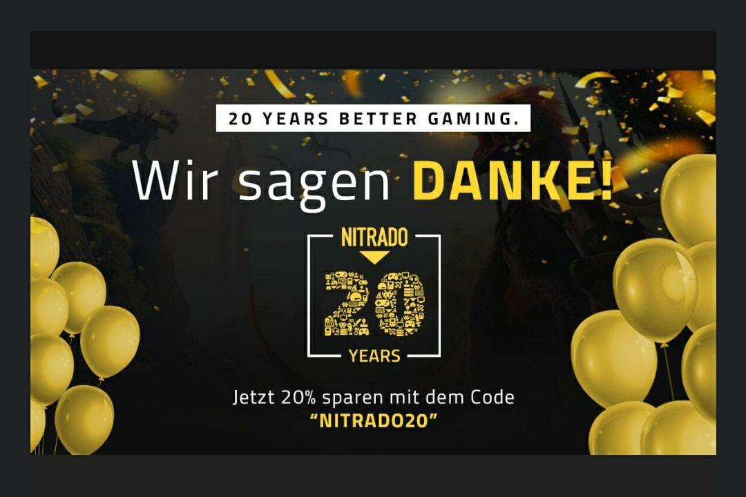 (Nitrado) 20% Rabatt auf Gaming Server