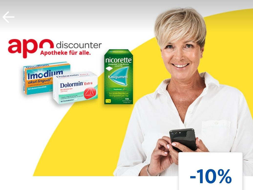 [lidl plus] 10% auf rezeptfreie Produkte bei Apo-Discounter
