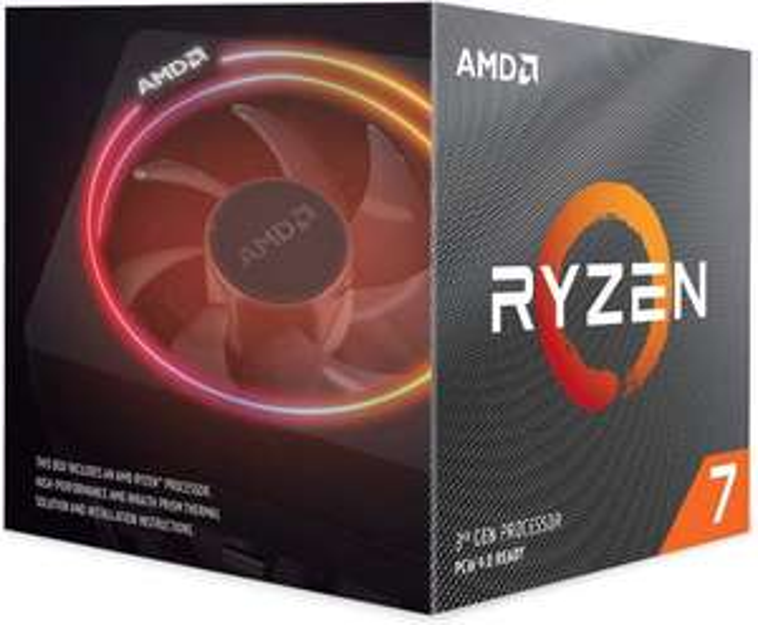 AMD Ryzen 7 3700X Prozessor mit Wraith Prism Kühler (3,6 GHz, max. Turbotakt 4,4 GHz, 8 Kerne, 16 Threads, AM4 Sockel, 32 MB Cache) Box