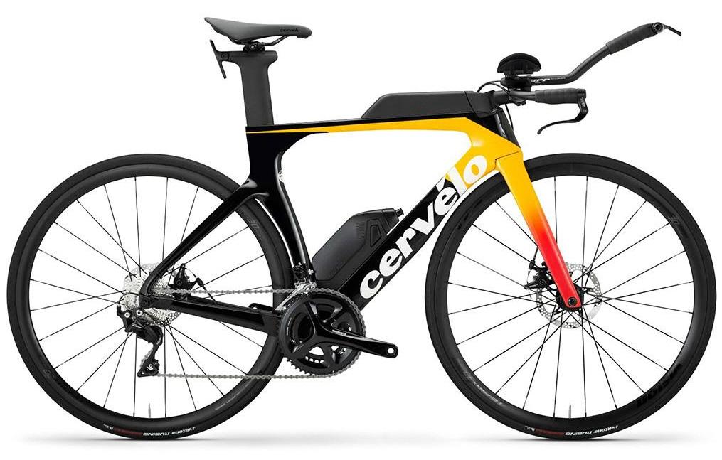 Rennrad Triathlon/TT Cervelo P-Series Disc 105 (Carbon/105/8.5kg) - 2020 (48,51,54cm), 2 farben