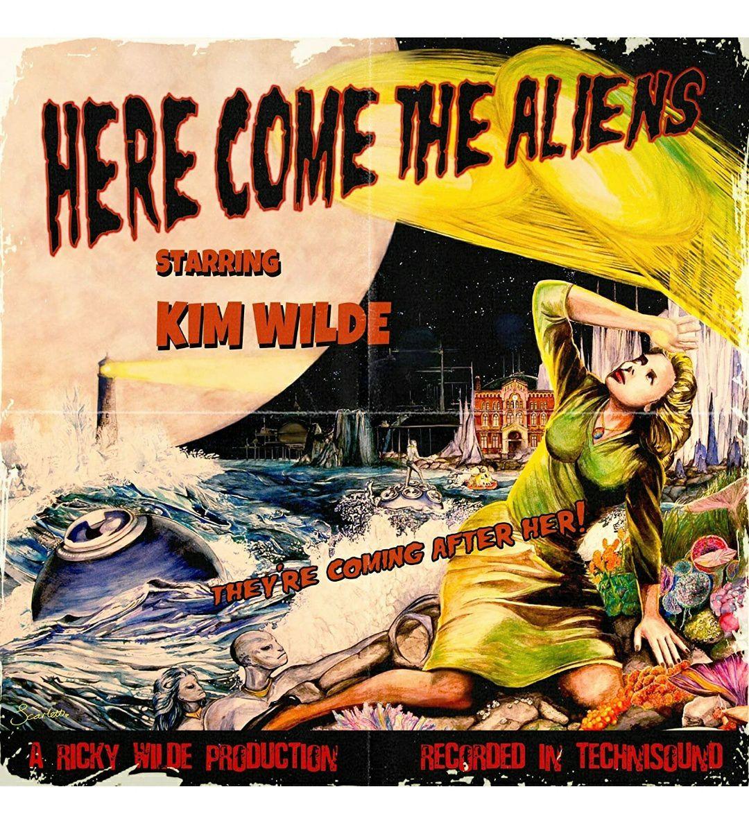(Prime) Kim Wilde - Here Come The Aliens (Farbige Vinyl LP)