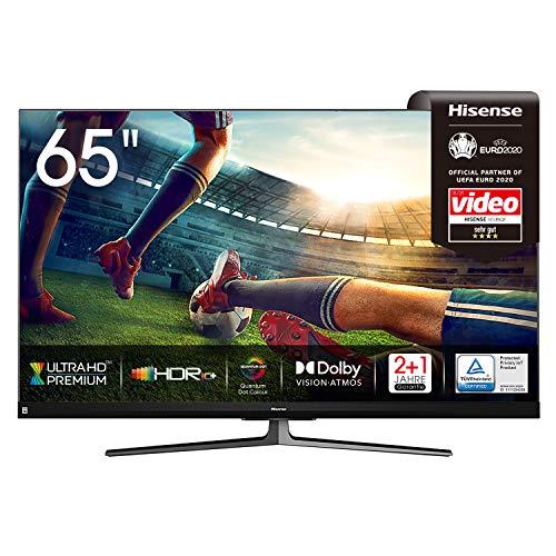 Hisense 65U8QF QLED Fernseher (65 Zoll, 4K, HDR10+, Full Array Local Dimming, 120Hz)