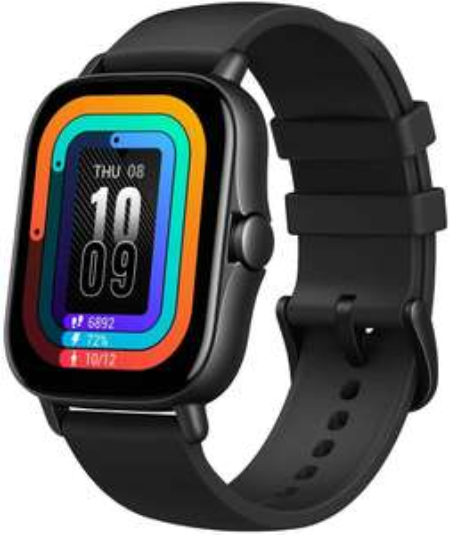 "Amazfit GTS 2 1,65"" OLED Smartwatch (Bluetooth 5.0, GPS, WiFi, SpO2, 7d Akku, Lautsprecher, Mikrofon, 3GB Musikspeicher)"