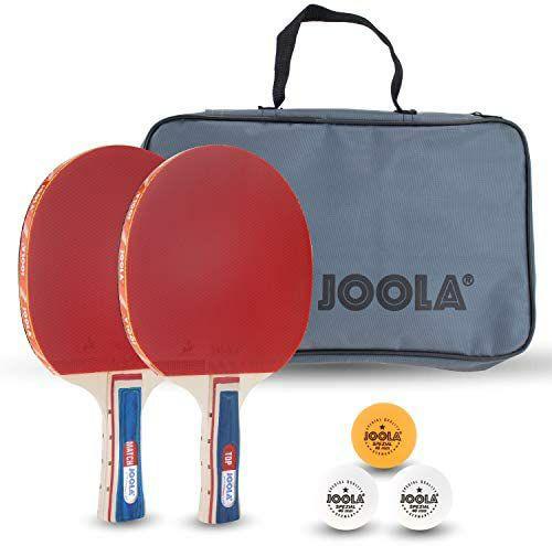 JOOLA Tischtennis Set Duo, 2 Tischtennisschläger + 3 Tischtennisbälle + Hülle | Family Set für 15,99€ [Amazon Prime]