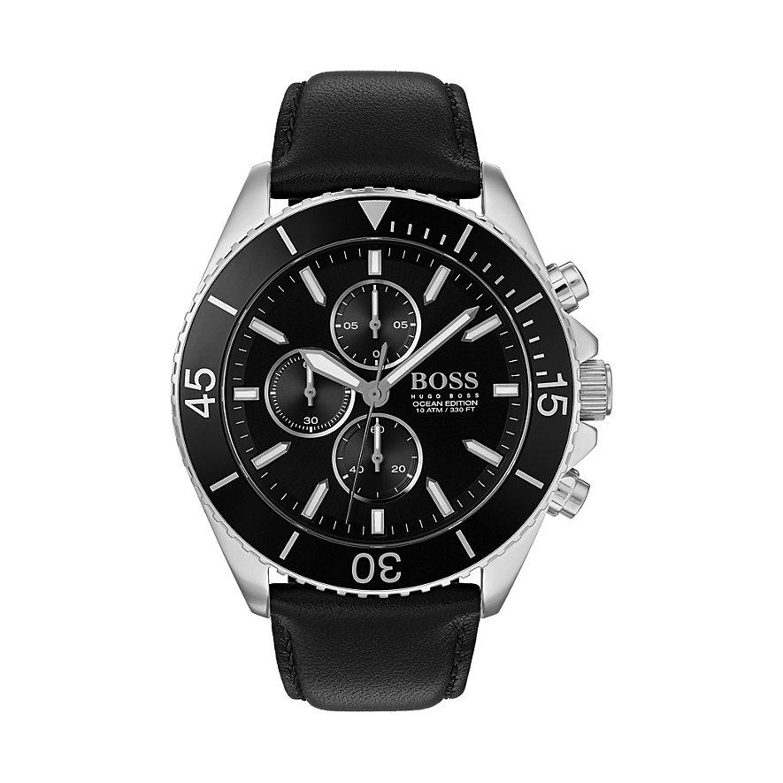 20% extra Rabat auf reduzierte Uhren bei Christ, z.B. Hugo BOSS Ocean Edition Chronograph