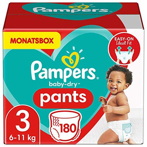Pampers Baby Dry Pants Größe 3 Monatsbox