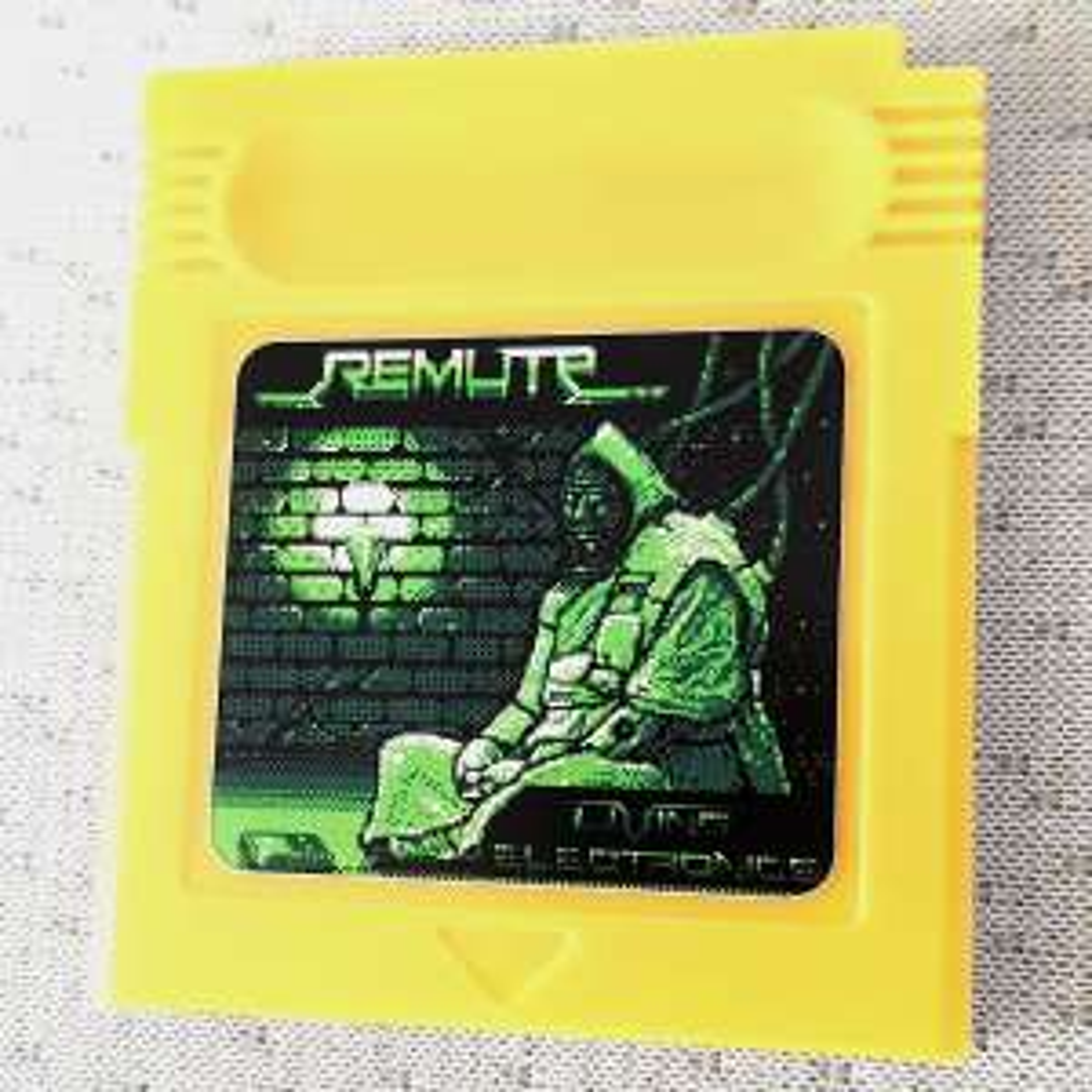 [Nintendo Game Boy] Musikalbum auf Gameboy Modul von Remute