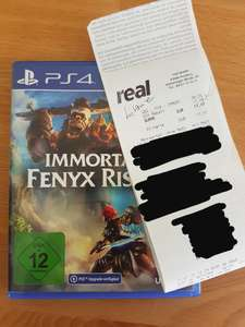 [Lokal Real Pentling] 50% auf alle Games und Filme, z.B. Immortals Fenyx Rising PS4 17,47€, Ghost of Tsushima 19,97€