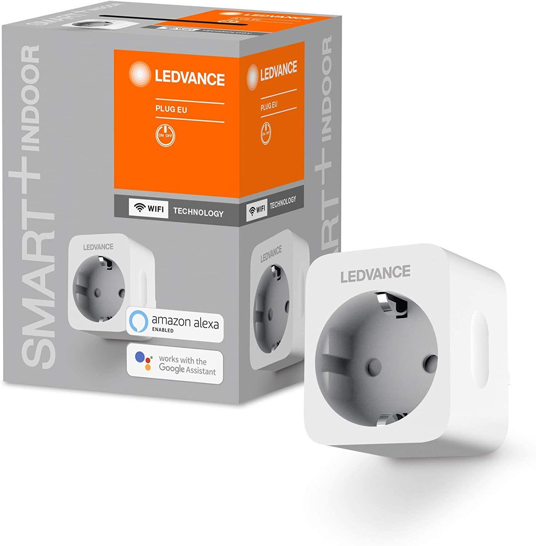 4x Ledvance Smart+ Indoor WiFi-Steckdose (Strommessung, Smart-Plug, kompatibel mit Alexa & Google) per App ggf. 12,90€