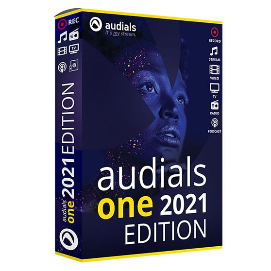 Audials One 2021 Edition Vollversion
