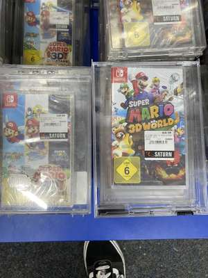 [Lokal Saturn Hannover] Super Mario 3D World + Bowser's Fury, Super Mario 3D All-Stars, Nintendo Switch