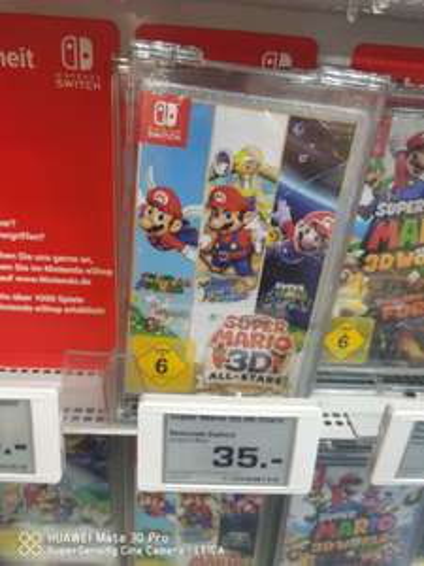 Nintendo Switch Mario 3D All Stars (Lokal Saturn Düsseldorf)
