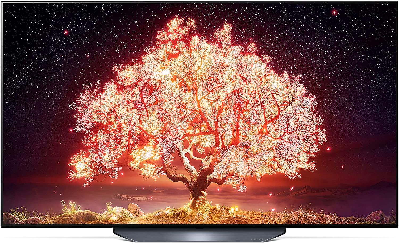 LG OLED77B19LA TV 195 cm (77 Inches) OLED TV (4K Cinema HDR, 120 Hz, Smart TV) [Model 2021]