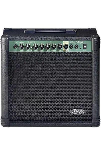 Stagg SPRING REVB GT.AMPLI.40W, E-Gitarren Verstärker, Maße 39 x 42 x 21 cm, 10,7 kg [Zoundhouse]