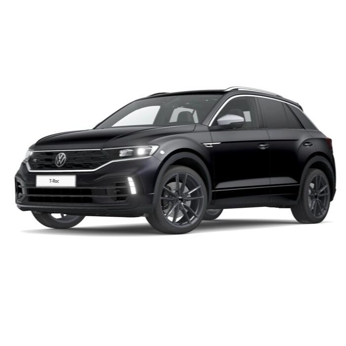 Gewerbeleasing: VW T-Roc R DSG + Vollausstattung (300 PS) mtl. 199€ + 832€ ÜF (eff. mtl. 234€), LF 0,4, GF 0,47, 24 Monate, sofort verfügbar