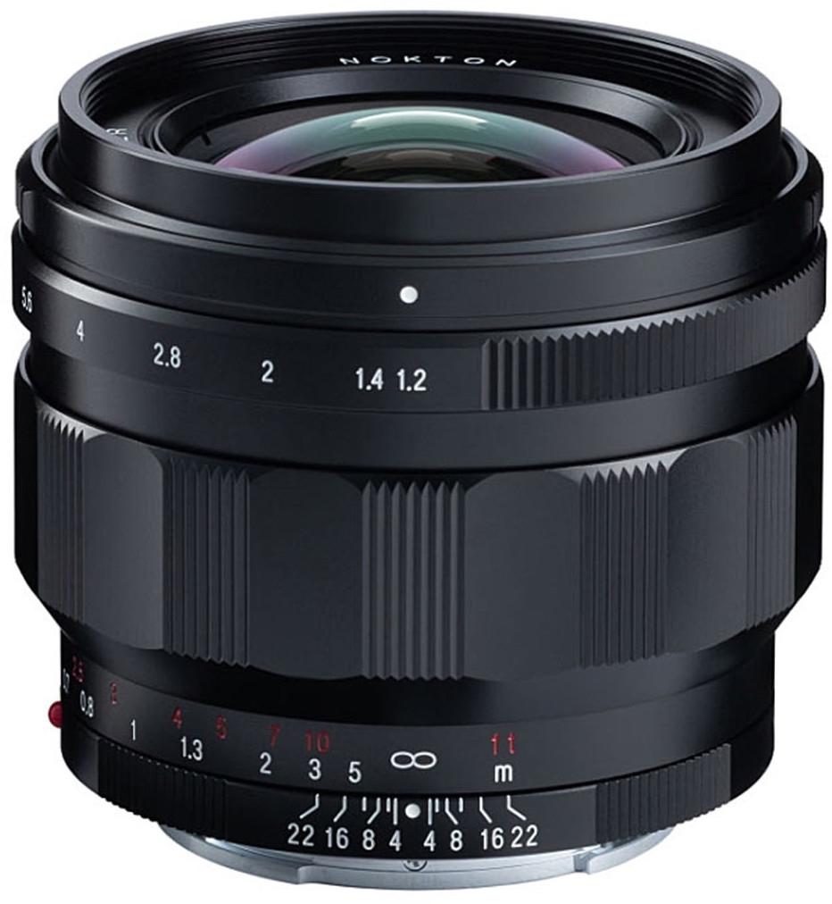 Voigtländer 50mm F1.2 Nokton Asph. Objektiv für Sony E-Mount