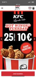 25 Hotwings am Hotwings Tuesday