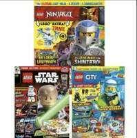 LEGO Magazine (mit Extras) im Jahresabo: LEGO Ninjago für 35,50 € | LEGO City für 31,96 € | LEGO Star Wars für 32 €