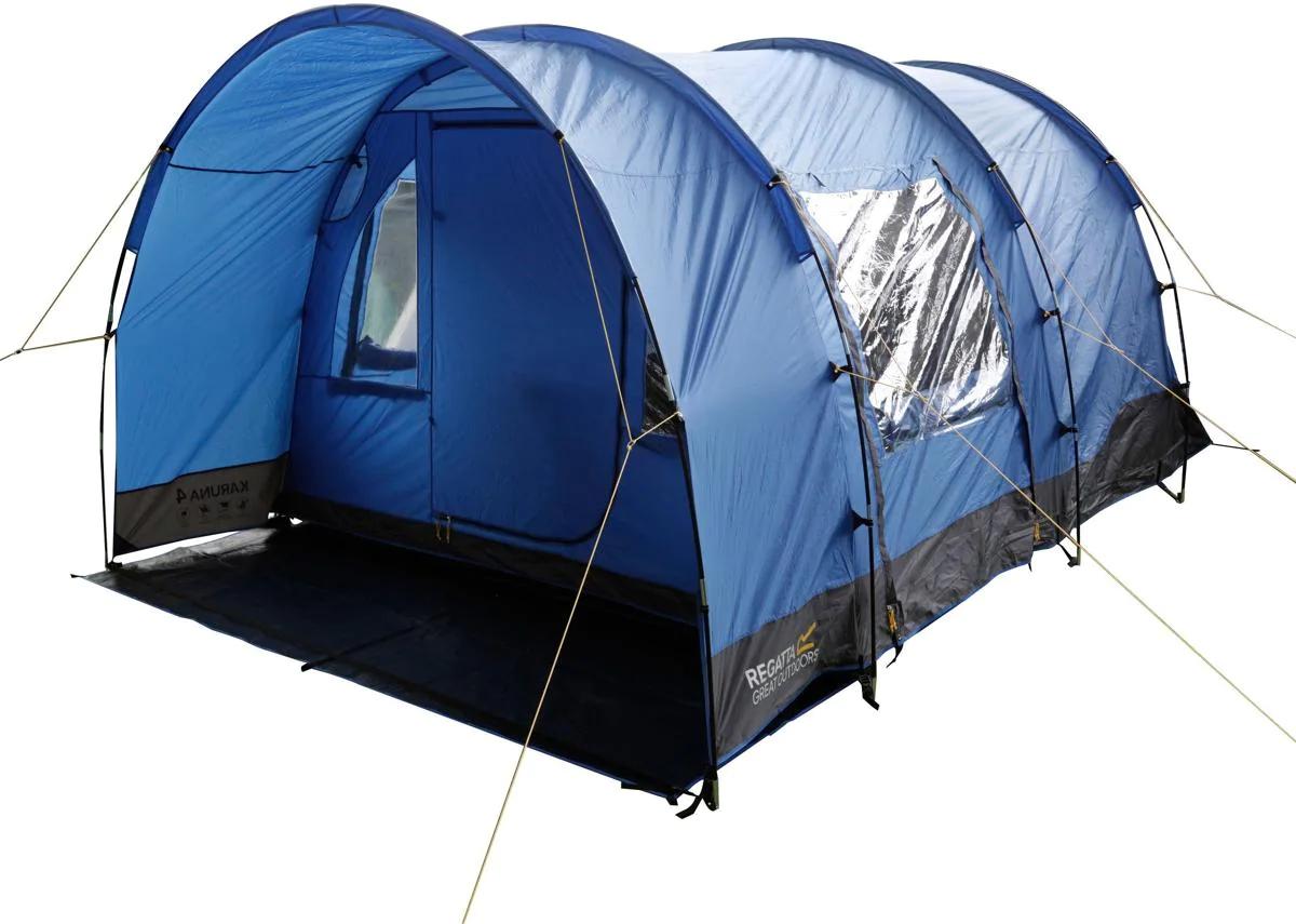 Regatta, Karuna Family Camping Tunnel Zelt, 4 Personen