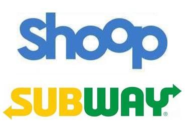[Shoop] Subway 3€ Cashback für jede Bestellung ab 2,99€ MBW (Abholung oder Lieferung)