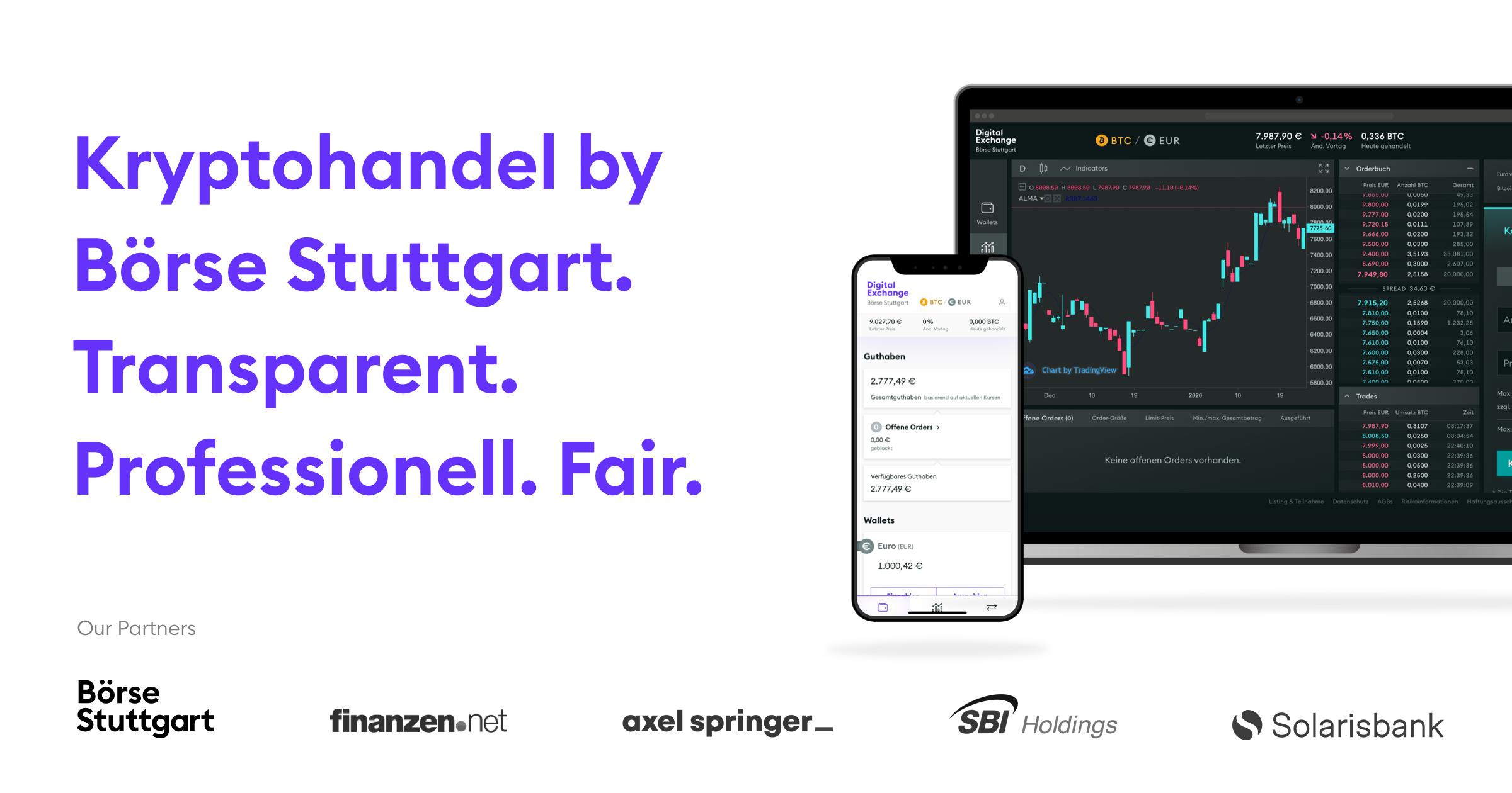 25€ Neukundenprämie bei Börse Stuttgart Digital Exchange (BSDEX), Kryptowährungen Bitcoin, Ethereum, Ripple XRP und Litecoin handeln
