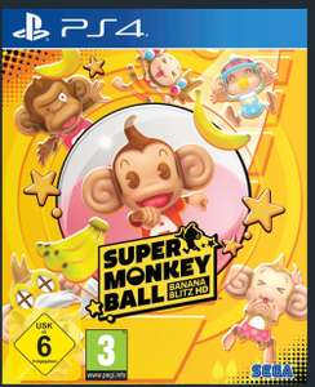 [Saturn] Super Monkey Ball Banana Blitz HD PS 4