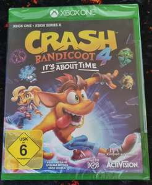 Crash Bandicoot 4 XBOX Lokal Saturn Dortmund Westenhellweg