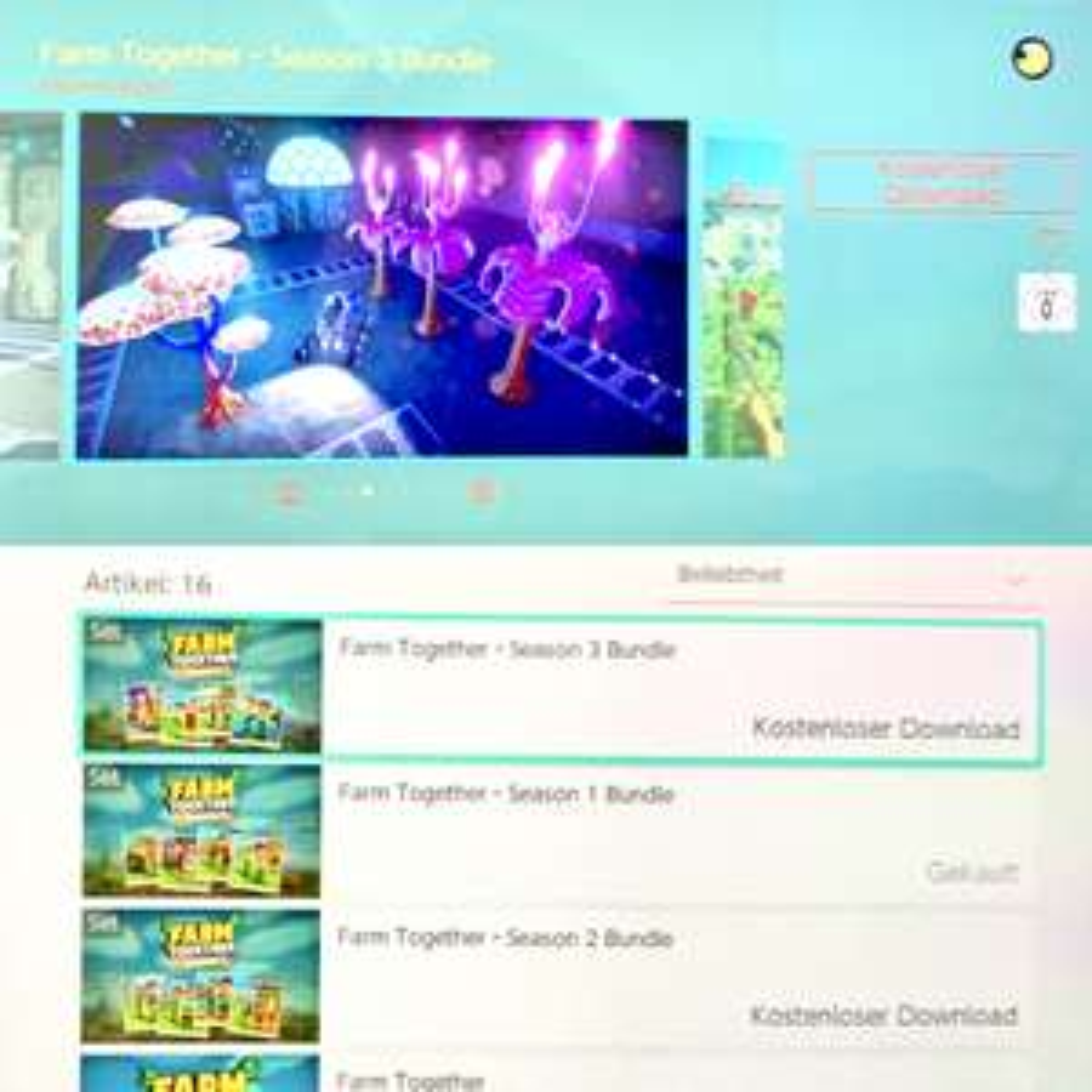 [Nintendo Switch] Gratis DLCs für Farm Together