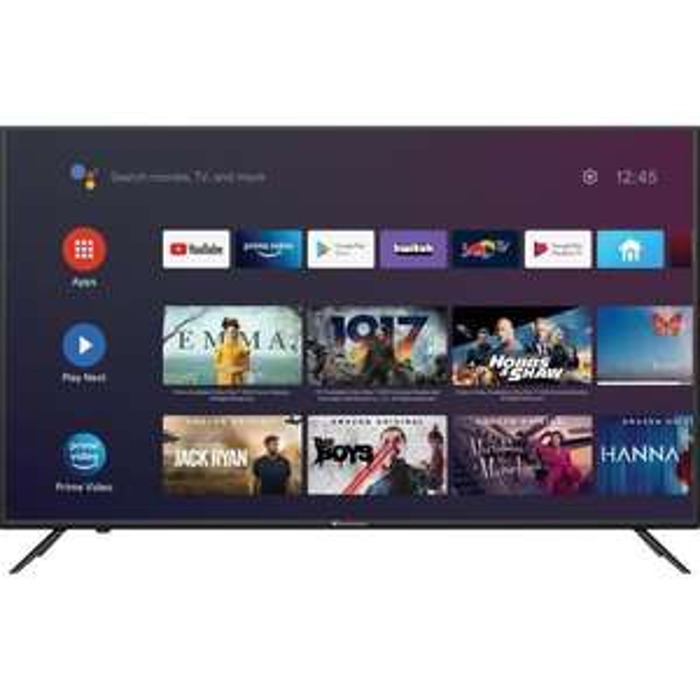 CONTINENTAL EDISON Android TV QLED 43'' (108cm) 4K Ultra HD - Wifi - Bluetooth Netflix -
