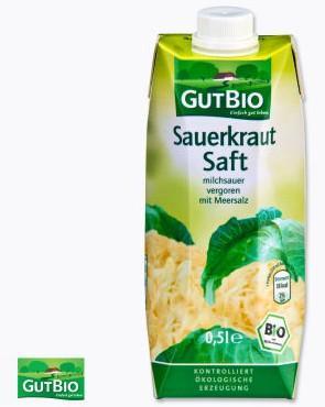 Bio Sauerkrautsaft bei ALDI-Nord ab 11.04.2013
