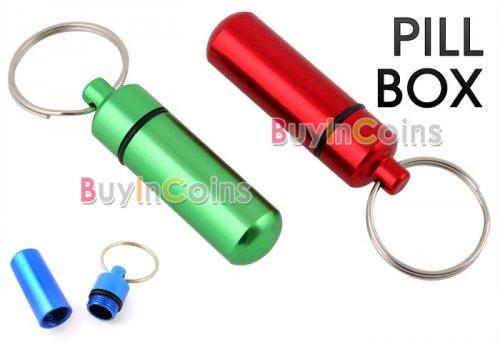 (CN) wasserdichter Micro Geocaching Behälter (Cache) für 68 Cent @ BIC (alternative Einsatzzwecke: Hundehalsbandbehälter, Pillendose...)