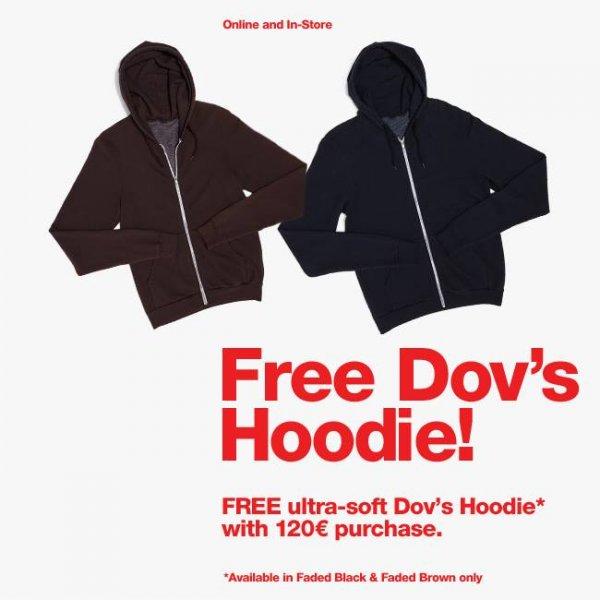 American Apparel: Hoodie (ab 120€) oder Mütze (ab 75€) geschenkt.